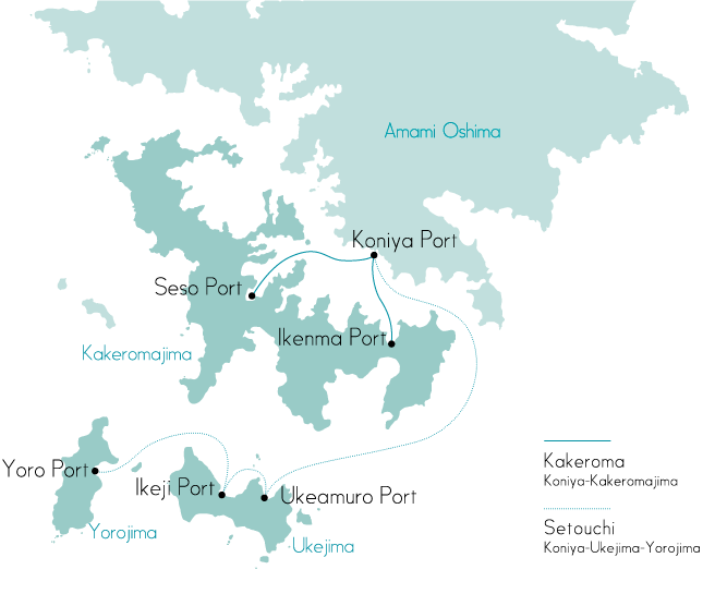 For Tokara Islands