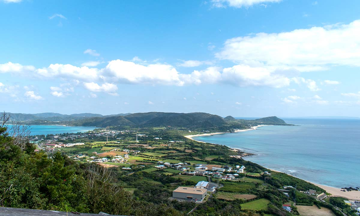 Kashiken Pass (Hillside View of Two Oceans)