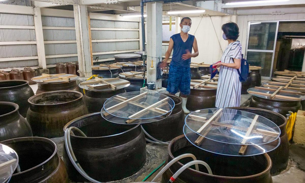 Kokuto Shochu Distillery Tours